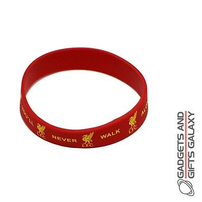 OFFICIAL LIVERPOOL FOOTBALL CLUB RUBBER CREST WRISTBAND Sporting goods accessory