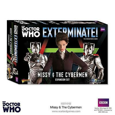 Missy And The Cybermen - Dr Who - Warlord Games