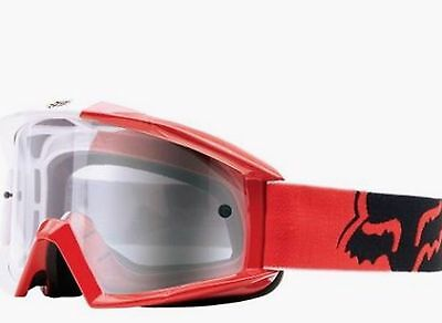 FOX Motocross goggles Honda Red NEW! Motorcross Dirt bike MX Off road