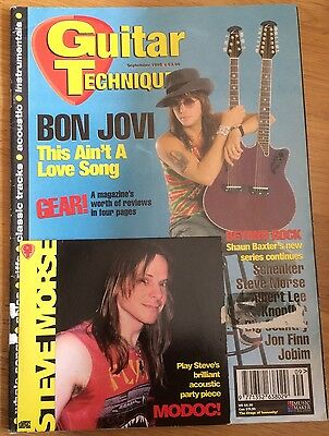 Guitar Techniques magazine and CD September 1995