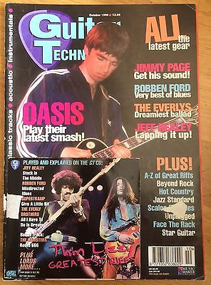 Guitar Techniques magazine and CD October 1995