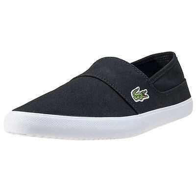 Lacoste Marice Bl 2 Mens Slip On Black New Shoes