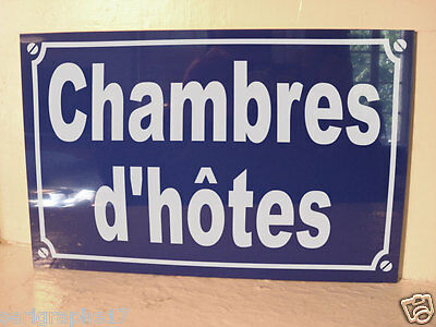 chambres d'hotes  signalisation chambre d'hote  /  option PERSONNALISATION + 4 €