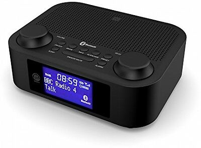 ihome glowtunes digital fm radio alarm clock wireless bluetooth speaker aux usb. Black Bedroom Furniture Sets. Home Design Ideas