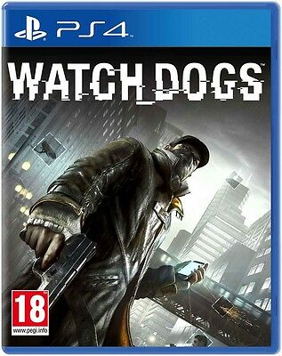 Watch Dogs Ps4 Nuovo Playstation 4 Italiano Offerta