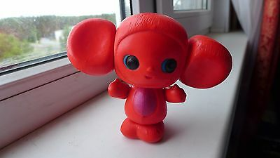 70s Vintage Russian USSR Celluloid CHEBURASHKA  Toy