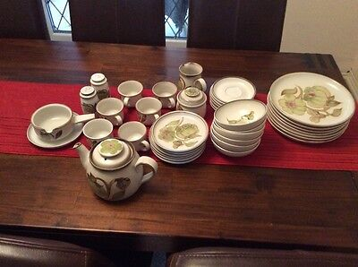 Denby Troubadour dinner and tea set