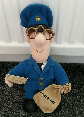 Postman Pat Soft Toy Plush from 1996 *RARE* Official Toy