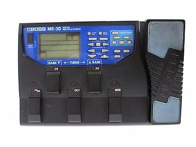 BOSS ME-30 Guitar Multiple Effects Pedal Board ME30 From Japan *0530
