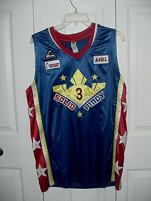 #3 Philippines BASKETBALL Red Stars White & Blue SELECT PINOY JERSEY size M