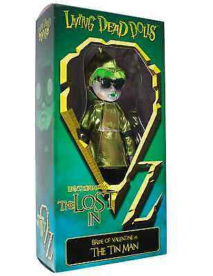 Living Dead Doll Presents Wizard of Oz Valentine As The Tin Man VARIANT By Mezco