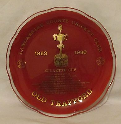 Lancashire County Cricket Club Gillette Cup 1963 - 1980... Old Trafford