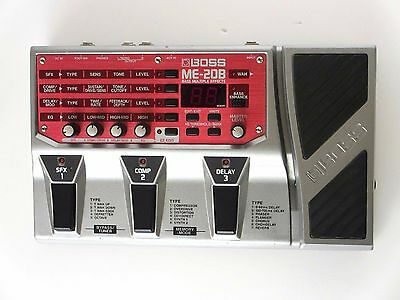 BOSS ME-20B Multi-Effects Guitar Effect Pedal ME20B From Japan *0607