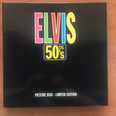 Elvis Presley ‎– Elvis The 50's Box 5xlp Pictures LIMITED EDITION