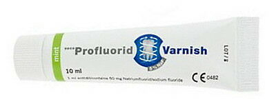 PROFLUORID VARNISH VOCO TUBE 10 ml MINT. Barniz desensibilizante dental.