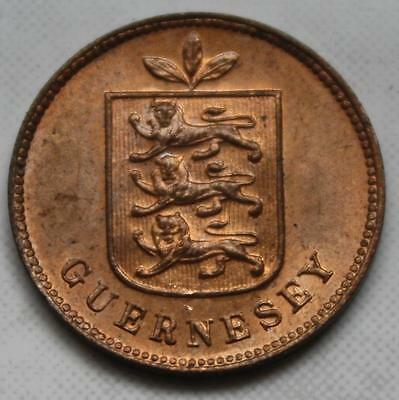Rare Bank Roll Find 1902 H Guernesey 1 Double Brilliant Uncirculated Full Lustre