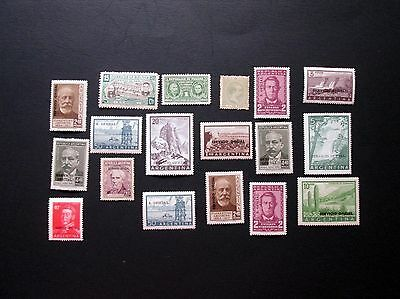 Latin America 18 Stamps, MNH, High Quality Included, Argentina, F767