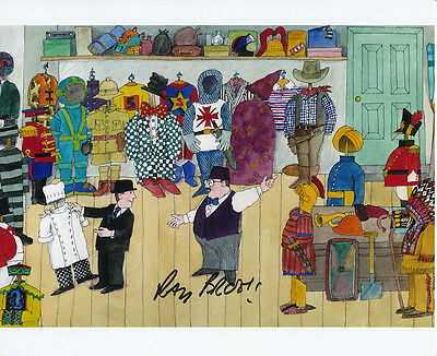 Ray Brooks In Person Signed Photo - Mr. Benn - AG253
