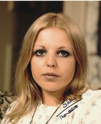 Sally Thomsett In Person Signed Photo - Man About the House - AG268