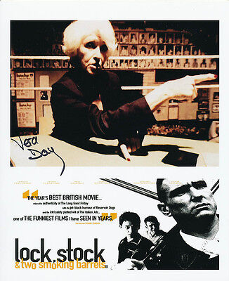 Vera Day In Person Signed Photo - Lock, Stock and Two Smoking Barrels - AG273