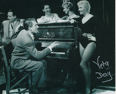 Vera Day In Person Signed Photo - The Prince and the Showgirl - AG281
