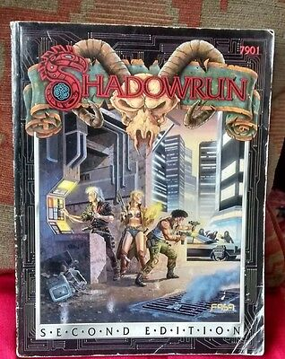 SHADOWRUN second edition RPG Rule Book FASA 7901