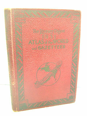Atlas of the World and Gazetter byThe Literary Digest