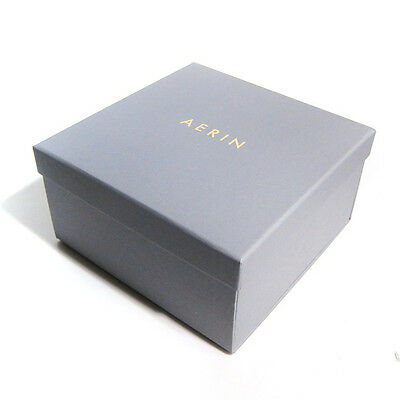 "AERIN Square Empty Gift Box 7.5"" x 7.5"" x 4"" - Gray"