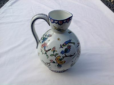 GIEN  RARE VINTAGE FRENCH FAIENCE  POTTERY JUG  Dated 19thCentury