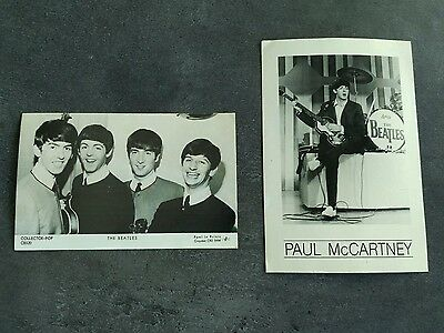 Collector Pop C8520 Splash X312 The Beatles Paul Mc Cartney Postcard Cp Tbe