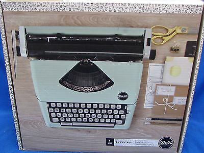 NEW We R Memory Keepers Typecast Typewriter - MINT - Crafts Scrapbooking