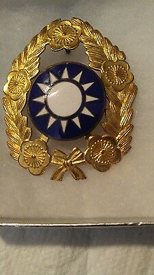 WWII Chinese Officers Hat Pin