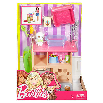 Barbie Pet Room Furniture and Accessories Playset