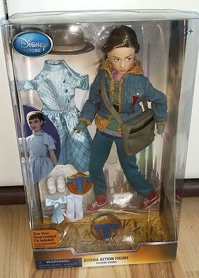 Disney Tomorrowland Athena Action Doll A World Beyond Puppe NRFB