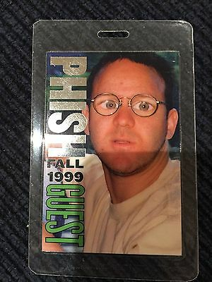Phish Backstage Pass Laminates (3)