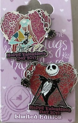 Valentine's Day 2011 - Jack and Sally LE 1500 Pin Set