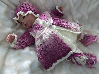 "Dashele Designs - New Knitting Pattern To Fit 18-22"" Reborn/0-3 Month Baby"