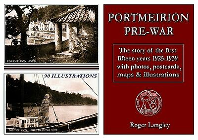 Portmeirion Pre-War 1925-1939 Book - Postcards, History And Rare Photos