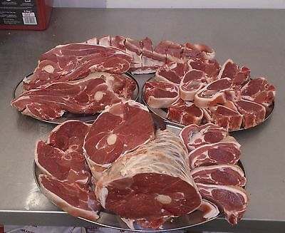 Meat Welsh Half Lamb6-7KG ( Fresh Meat )(Grass fed) SPECIAL OFFER