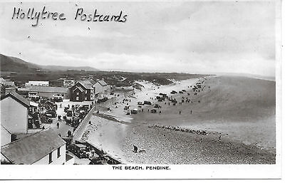 The Beach Pendine with cars Carmarthen RP