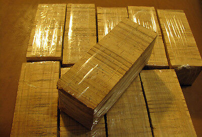 Russian  Birch Bark Block Knife Fly Rod Handl for crafts extremly high quality