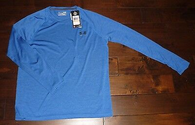 Under Armour men's long sleeve T-shirt in blue color size SMALL NEW WITH TAG