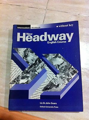 Libro Inglés -  Headway Intermediate WorkBook sin Respuestas (WITHOUT KEY)