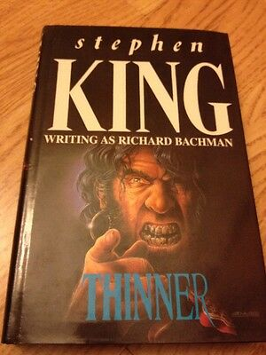 THINNER Richard Bachman / Stephen King New England Library 1985 1st/4th HB RARE