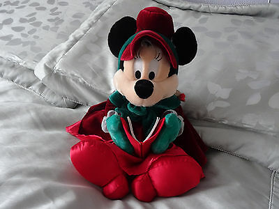 Mini Mouse Soft Toy  15 Inches  Or 38 Cm Tall Disney Christmas Bear  Vgc