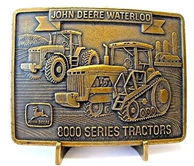 1997 John Deere Crossing 8100 & 8300T 8000 Series Tractor Belt Buckle Special Ed