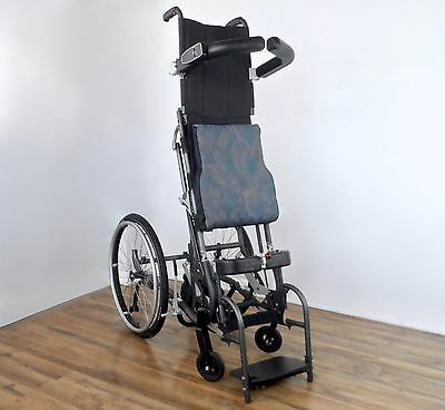 LifeStand LSE standing wheelchair - power stand-up frame - levo-tilite-permobil