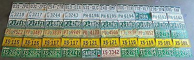 Colorado License Plate Lot 60 COLORFUL GTM Craft
