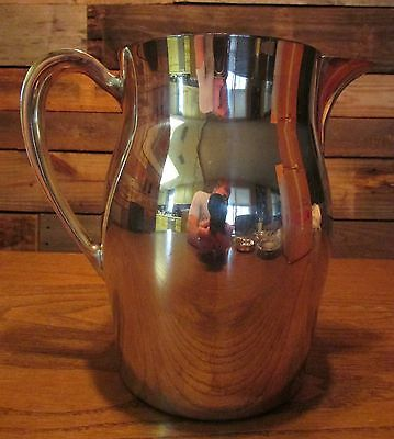 Paul Revere Pitcher Reproduction by Poole / Sterling Silver Plated / With Box