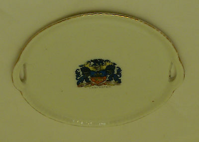Gemma Crested China Tray Lancaster - 13cm long